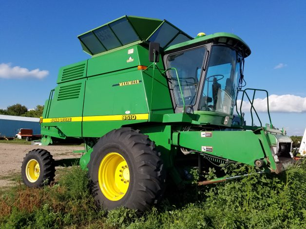 John Deere 9510 For Sale September 8th