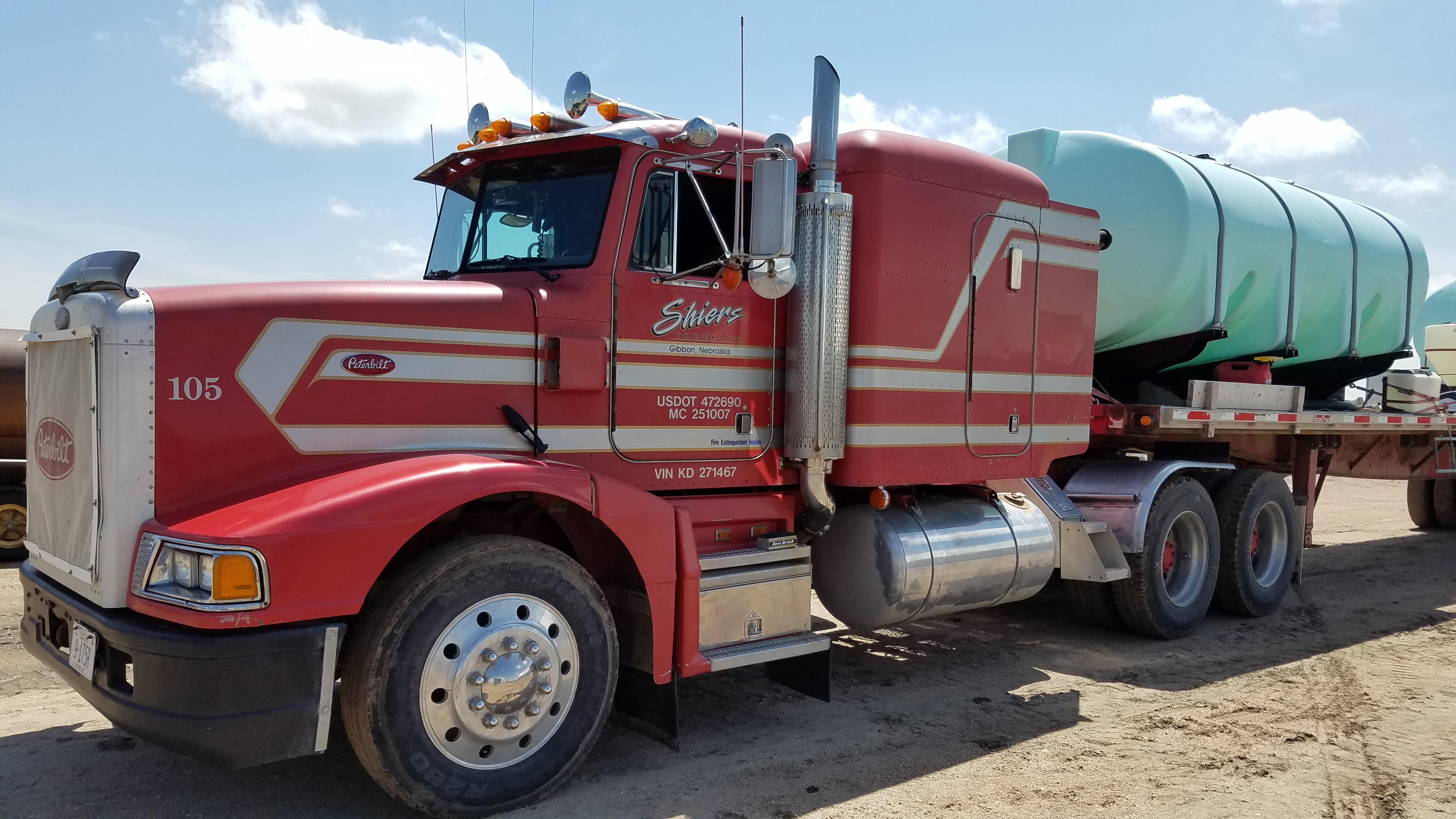Peterbilt 377 for sale nebraska