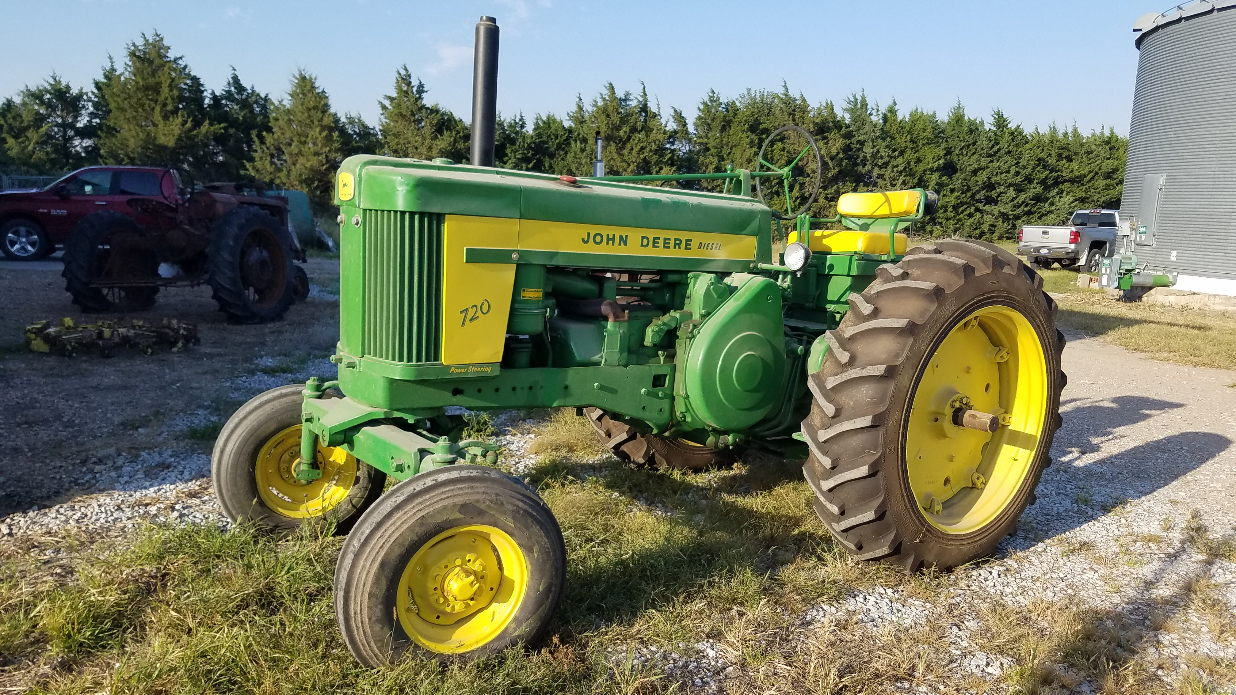 1957 John Deere 720 diesel for sale
