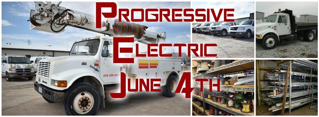 Progressive Electric Auction